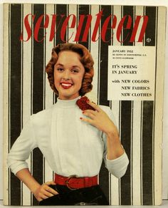 January 1952 cover with Tippi Hedren