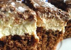 Túrós-kávés szelet Hungarian Desserts, Hungarian Recipes, Cookie Recipes, Dessert Recipes, New York Style Cheesecake, Sweet Like Candy, Sweet And Salty, Winter Food, Cake Cookies