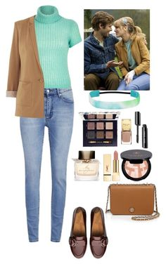 """""""The Age of Adaline"""" by eliza-redkina ❤ liked on Polyvore featuring Cheap Monday, River Island, Oasis, FitFlop, Anastasia Beverly Hills, Tory Burch, Burberry, StreetStyle, Fall and outfit"""