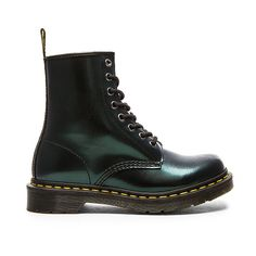 Dr. Martens 8 Eye Boot Shoes ($125) ❤ liked on Polyvore featuring shoes, boots, ankle booties, ankle boots, lace up bootie, laced boots, lace up ankle bootie, laced booties and lace up boots