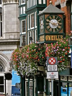 O'Neill's - Dublin!  Amazing food and pull-your-own-Guinness!  A must visit, and one of the highlights of my visit.
