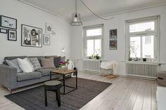 Decorar con estilo un piso en blanco y negro!