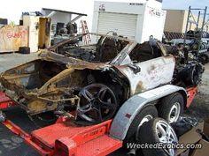 Lamborghini Gallardo crashed in Hollywood, California