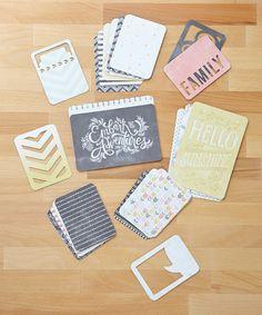 Adventures Journaling Card Set #zulily #zulilyfinds
