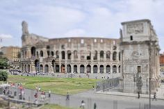Coliseum, Rome. (Photo by Richard Silver) http://avaxnews.net/appealing/Mind-bending_Photos_by_Richard_Silver.html #avaxnews.net #travel #art #photo