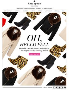 Kate Spade email - Fall 2013
