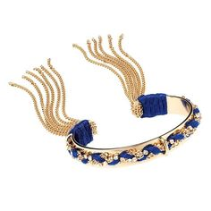 Why play it safe with your accessories this summer? Have some fun by rocking this brass bracelet adorned with glass stones and flirty tassels. Avon Mark, Avon Fashion, Jewelry Party, Bangle Bracelets, Stretch Bracelets, Jewelry Accessories, Summer Accessories, Sterling Silver Earrings, Fashion Jewelry
