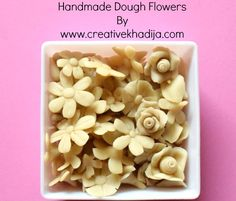 How To Make Dough For Handmade Jewelry & Crafts Making Dollar Store Crafts, Crafts To Sell, Fun Crafts, Crafts For Kids, Homemade Clay, Diy Clay, Clay Crafts, Jewelry Crafts, Handmade Jewelry