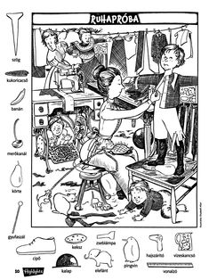 Hidden Object Puzzles, Hidden Picture Puzzles, Hidden Objects, Cool Coloring Pages, Coloring Books, Ivan Cruz, Highlights Hidden Pictures, Hidden Pictures Printables, Classroom Rewards