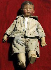 Original Antique 1910-29 Early Model Wide Hips German Kathe Kruse Doll 1