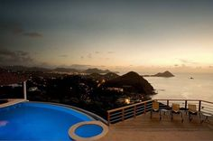 Amazing rental villa in the Caribbean featuring exceptional panoramas - Decoist