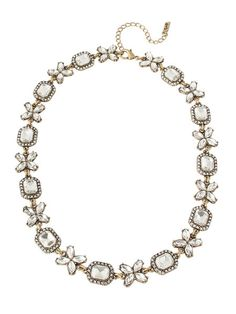 olive + piper Lulu Crystal Collar