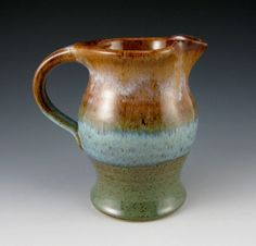 pitcher by twister river clayworks