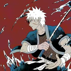 Tobirama is completely fuckin fine! Anime Naruto, Naruto Fan Art, Naruto Boys, Naruto Uzumaki, Anime Manga, Itachi, Boruto, Character Art, Character Design