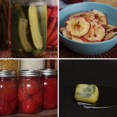 Are You Overflowing With Fresh Summer Veggies? Here Are 4 Ways To Preserve Them To Use Throughout The Year - 4 Ways To Preserve Your Summer Veggies Are You Overflowing With Fresh Summer Veggies? Here Are 4 Wa - Canning Recipes, Mexican Food Recipes, Appetizer Recipes, Healthy Recipes, Hotdish Recipes, Good Food, Yummy Food, Nutribullet Recipes, Pickles