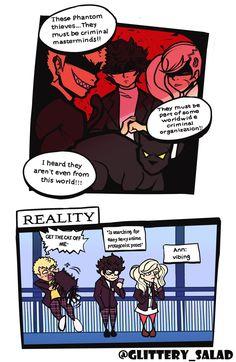 Persona 5 Memes, Persona 5 Anime, Persona 5 Joker, Shin Megami Tensei Persona, Gamer Humor, Anime Life, Cartoon Shows, Star Wars Art, Me Me Me Anime