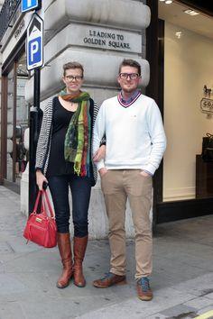 Emily and Alexander Molleli #RegentStreetStyle