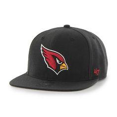 7f0f8a81b Arizona Cardinals Super Shot Captain Black 47 Brand Adjustable Hat