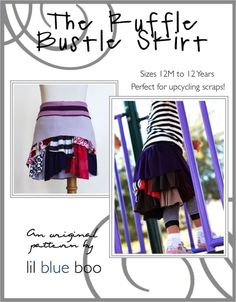The Ruffle Bustle Skirt | Ashley Hackshaw / Lil Blue Boo