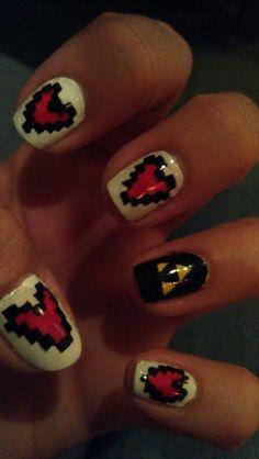 Legend of Zelda nail art
