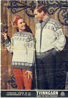 Norwegian Knitting, Knitting Patterns, Album, Retro, Jumpers, Painting, Art, Art Background, Knit Patterns