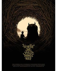 This weekend @spoke_art are having a Spike Jonze triple bill at @roxie_theater and @thenewparkway and here's a poster I made for it #poster #illustration #wherethewildthingsare #wildthing #max #spikejonze #spokeart #sanfrancisco #oakland #movie #poster #midnitesformaniacs