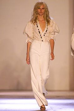 Chloé Spring 2002 Ready-to-Wear Fashion Show - Nicola Breytenbach (NATHALIE), Stella McCartney