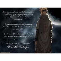 Fourth Hokage ❤ liked on Polyvore featuring naruto