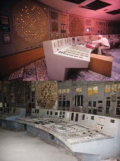 Ukraine - Chernobyl - Before & After; Chernobyl