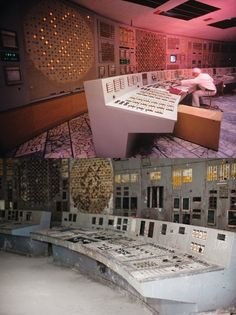 HUMAN INGENUITY HAS ITS LIMITS - Before  After; Chernobyl
