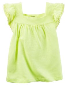 White dress with neon accessories for kids