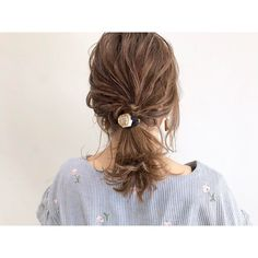Media?size=l Hair Arrange, Cute Hairstyles, Hair Styles, Beauty, Fashion, Hair, Hair Plait Styles, Moda, Fashion Styles