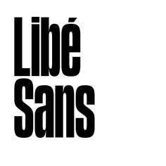 Libé Sans by Production Type