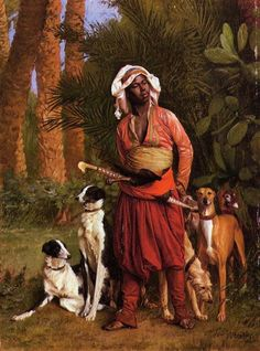 The Negro Master of the Hounds- Jean-Leon Gerome