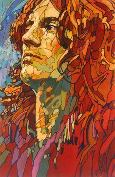 John Paul Jones of Led Zeppelin by Alexander Vygalov