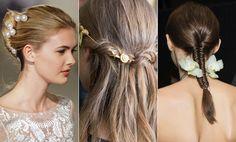 Le Fashion HAIR INSPIRATION 3 ROMANTIC UNDONE LOOKS