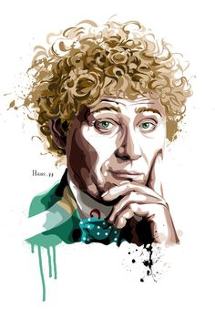 The Sixth Doctor Who by hansbrown-77.deviantart.com on @DeviantArt