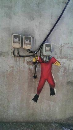 """Ihwa-dong Mural """"Séoul"""" #zienrs #kunst #zien #kijken"""