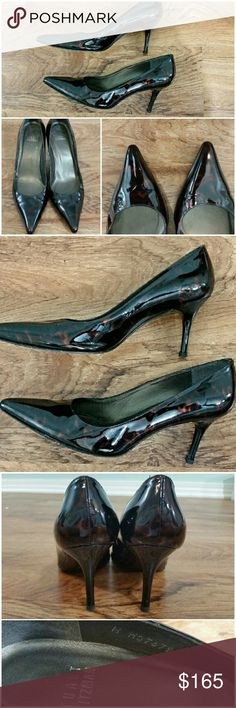 🎉SALE!!! Gorgeous Stuart Weitzman heels These are in great condition and so shiny!  Beautiful dark leopard color. Size 7. No box. There is 1 tiny spot that seems to be detaching off as shown in pic 4 (bottom right). Can be easily glued in.    Don't like the price? Make an offer!       Tags: deals, brand, bargain, Stuart Weitzman, Jeffrey campbell, nine west, ted baker, jessica Simpson, guess, bcbg, maxazria, express, limited, H&M, zara,  steve madden, fergie, sale, via spiga, classy, Sam…