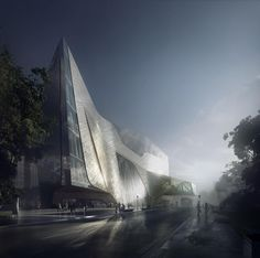 Mir is a creative studio that specialisesin portraying unbuilt architecture.
