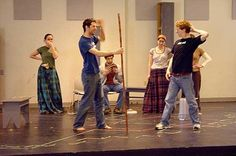 Acting rehearsal || Image source: http://www.megahowto.com/how-to-effectively-get-onto-the-stage-during-rehearsals-in-acting