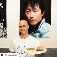 That is my friend !  he is a pastry chef ... NO!  He is an IRON pastry chef  #Repost @jasonlicker @bakelikeapro (@get_repost)  @jua_bangkok was lit this weekend!  So much dam fun serving up Lickerland Desserts in this hot brand spanking new Izakaya by @chetladkins and @jason_lang . Bangkok I will be back....  . #chefstalk #chefsofinstagram  #dessertmasters #TheArtOfPlating #gastroart #gastronogram #GourmetArtistry #pastry_inspiration #cheflife #dontshootthechef #truecooks #foodporn #pastry…