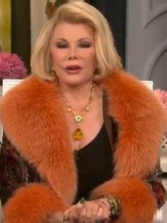 Joan Rivers Celebrity Roast Fashion Gem Collier//bijoux