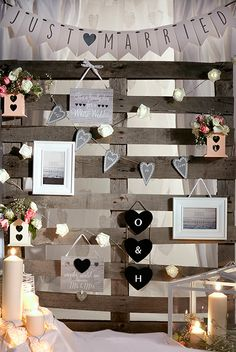 Wedding decor from Primark Wedding Decorations, Table Decorations, Wedding Ideas, Gallery Wall Bedroom, Autumn Inspiration, Summer Of Love, Primark, Photo Booth, Place Card Holders