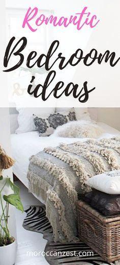 stunning romantic master bedroom ideas for a cozy intimate master bedroom Moroccan Design, Moroccan Decor, Romantic Master Bedroom, Bedroom Ideas, Bedroom Decor, Moroccan Bedroom, Morocco Travel, Design Ideas, Cozy