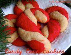 How to Make Candy Cane Sugar Cookies {Recipe}