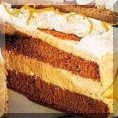 ΤΟΥΡΤΑ ΣΟΚΟΛΑΤΑΣ ΜΕ ΜΟΥΣ ΠΟΡΤΟΚΑΛΙΟΥ Αφράτη, απολαυστική και δροσερή τούρτα