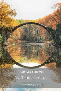 Die Teufelsbrücke gehört zu den meistfotografierten Orten in Deutschland. Einfach märchenhaft, oder?