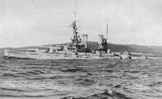 German 15 in battleship SMS Bayern sinking at Scapa Flow on June 21, 1919 during the mass scuttling of the High Seas Fleet.  She and her sister Baden were formidable ships, but were completed too late to serve at Jutland in 1916, after which there were no more engagements between capital ships.