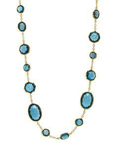 """IPPOLITA """"Rock Candy"""" 18K topaz necklace"""